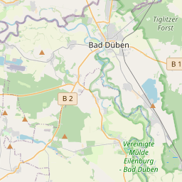 Entfernung zwischen Bad Düben (Sachsen) und Bad Schmiedeberg ...