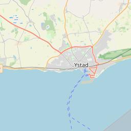 ETM Port Of Ystad - Sweden map ystad