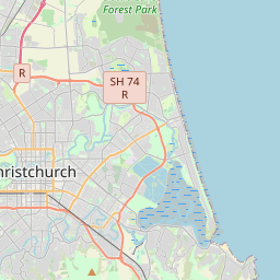 Christchurch Maps - Maps of Christchurch New Zealand on