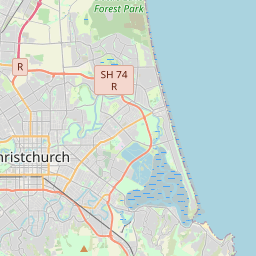 Where Is Christchurch New Zealand On The Map.Christchurch Maps Maps Of Christchurch New Zealand