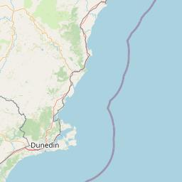 Dunedin Maps Maps Of Dunedin New Zealand