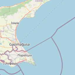Karta Famagusta Cypern.Vader Famagusta Vackertvader Se
